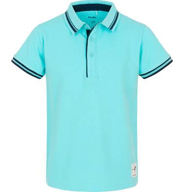 Endo - Koszulka polo dla chłopca 3-8 lat C91G057_1