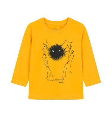 T-shirt z długim rękawem dla dziecka 0-3 lata N92G044_1