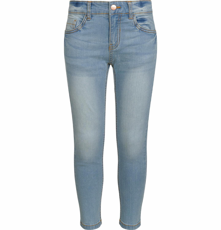 Endo - Spodnie jeansowe dla dziewczynki, jasnoniebieskie, 9-13 lat D03K528_1