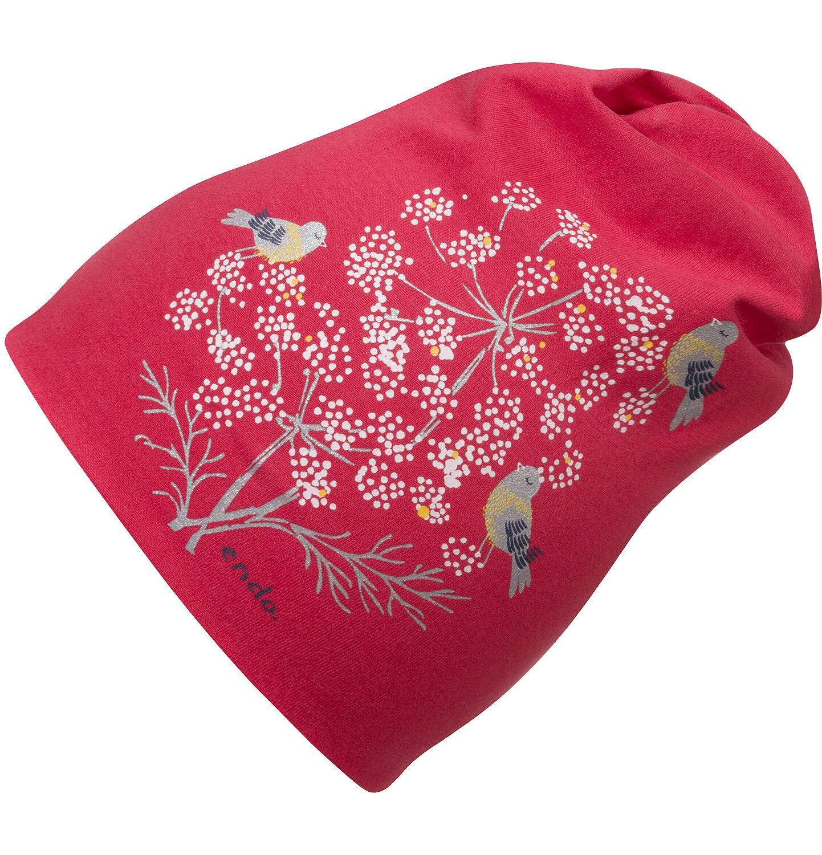Endo - Czapka dla dziewczynki, czerwona D04R029_1