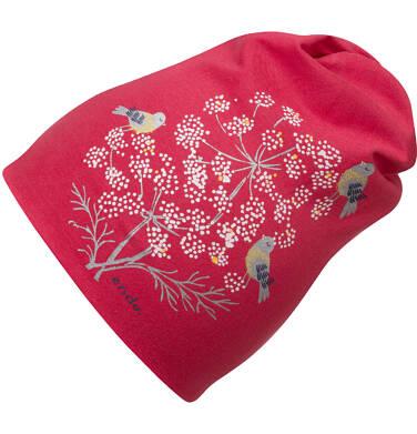 Endo - Czapka dla dziewczynki, czerwona D04R029_1 97