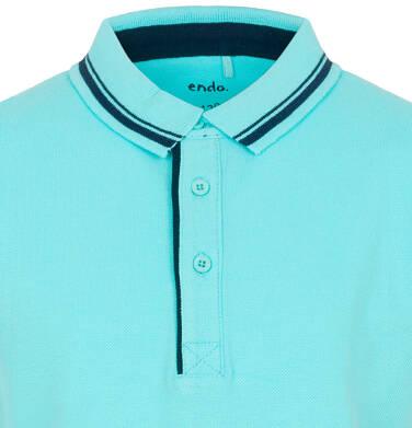 Endo - Koszulka polo dla chłopca 9-13 lat C91G557_1