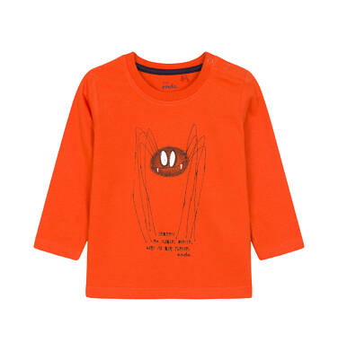T-shirt z długim rękawem dla dziecka 0-3 lata N92G045_1