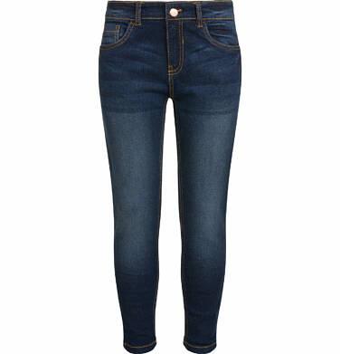 Endo - Spodnie jeansowe dla dziewczynki, 2-8 lat D03K028_2 278