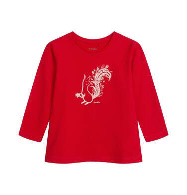 Endo - Bluzka dla dziecka do 2 lat, czerwona N04G032_1,1