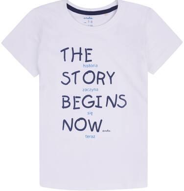 Endo - T-shirt z krótkim rękawem dla chłopca 3-8 lat C72G161_1
