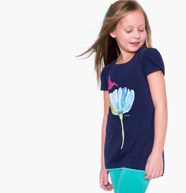 Endo - Tunika z krótkim rękawem dla dziewczynki 3-8 lat D81G140_1