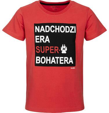 Endo - T-shirt z krótkim rękawem dla chłopca 9-13 lat C91G539_1