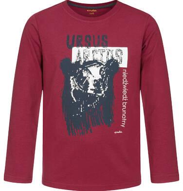 Endo - T-shirt z długim rękawem dla chłopca 3-8 lat C92G044_1