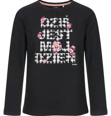Endo - Bluzka z długim rękawem dla dziewczynki 9-13 lat D92G509_2