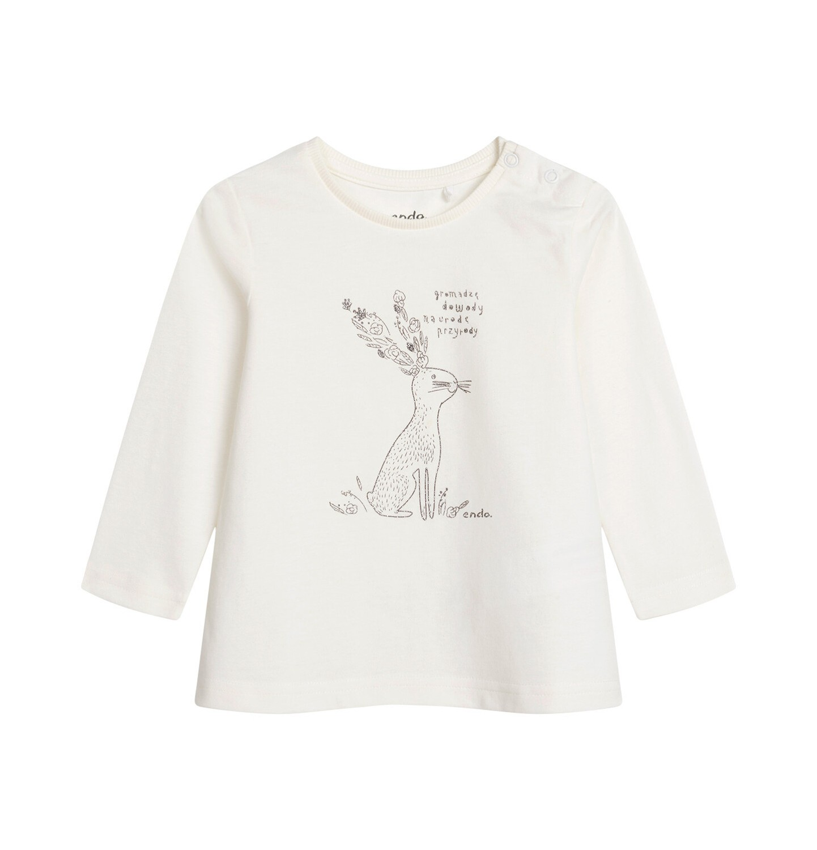 Endo - Bluzka dla dziecka do 2 lat, porcelanowa N04G033_1