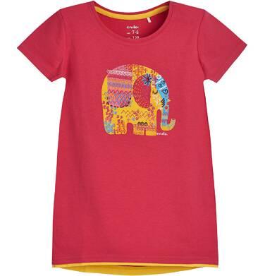 Endo - Tunika z krótkim rękawem dla dziewczynki 3-8 lat D81G148_1