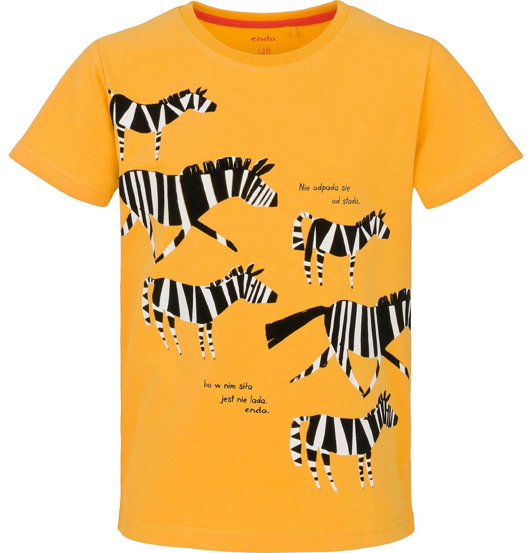 Endo - T-shirt z krótkim rękawem dla chłopca 9-13 lat C91G636_1