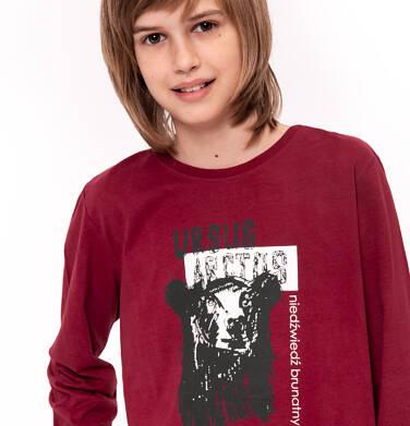 Endo - T-shirt z długim rękawem dla chłopca 9-13 lat C92G544_1