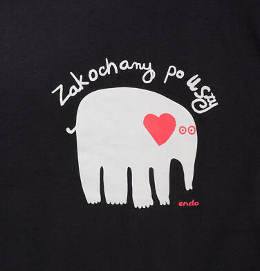 Endo - T-shirt męski Q52G023_1