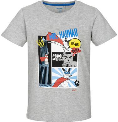 Endo - T-shirt z krótkim rękawem dla chłopca 9-13 lat C91G541_1