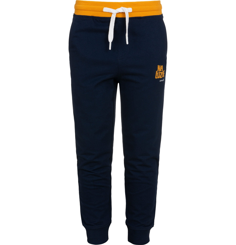 Endo - Spodnie dresowe dla chłopca, granatowe, 2-8 lat C05K024_3