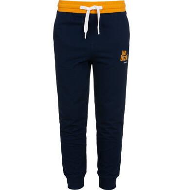 Endo - Spodnie dresowe dla chłopca, granatowe, 2-8 lat C05K024_3 14