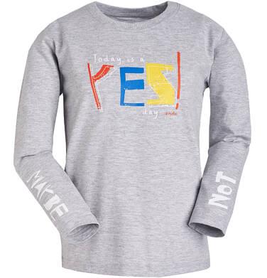 Endo - T-shirt z długim rękawem dla chłopca 9-13 lat C81G504_1