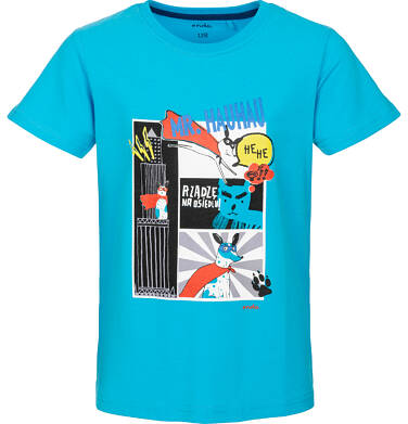 Endo - T-shirt z krótkim rękawem dla chłopca 3-8 lat C91G041_2