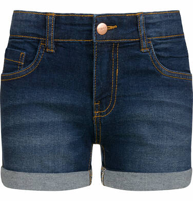 Endo - Krótkie spodenki jeansowe dla dziewczynki, 2-8 lat D03K029_2