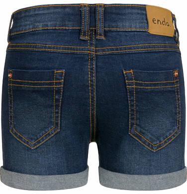 Endo - Krótkie spodenki jeansowe dla dziewczynki, 2-8 lat D03K029_2,3