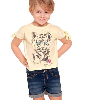 Endo - Krótkie spodenki jeansowe dla dziewczynki, 2-8 lat D03K029_2,2