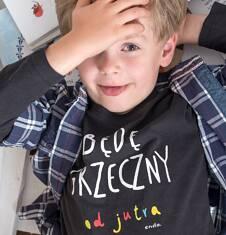 Endo - T-shirt z długim rękawem dla chłopca 3-8 lat C72G162_1