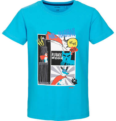 Endo - T-shirt z krótkim rękawem dla chłopca 9-13 lat C91G541_2