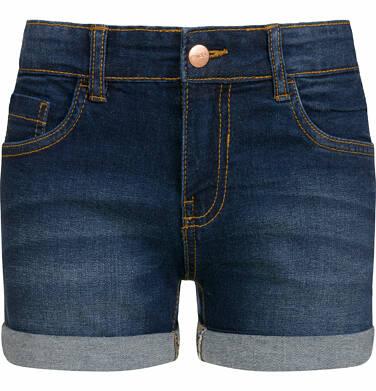 Endo - Krótkie spodenki jeansowe dla dziewczynki, 9-13 lat D03K529_2