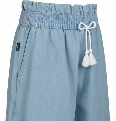 Endo - Spodnie jeansowe dla dziewczynki, kuloty, jasnoniebieskie, 2-8 lat D03K030_1 4