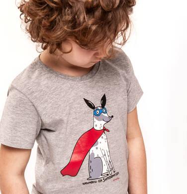 Endo - T-shirt z krótkim rękawem dla chłopca 9-13 lat C91G542_2