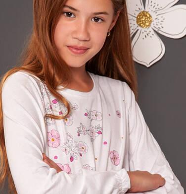 Endo - Bluzka z długim rękawem dla dziewczynki 9-13 lat D92G511_1