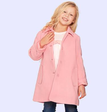 Endo - Płaszcz przejściowy dla dziewczynki, z kołnierzykiem, różowy, 9-13 lat D05A004_1 6
