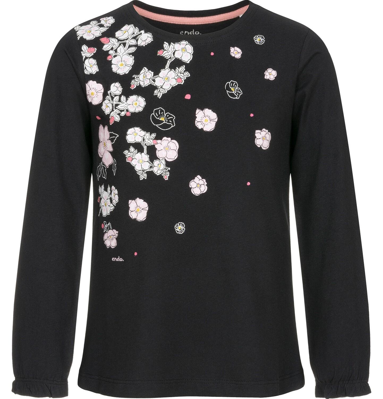 Endo - Bluzka z długim rękawem dla dziewczynki 3-8 lat D92G011_2