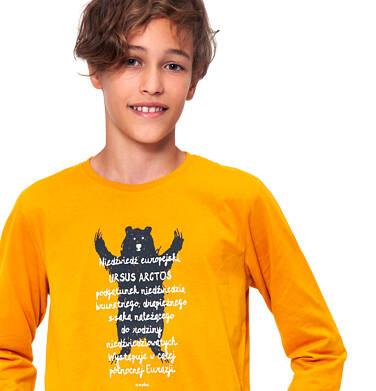 Endo - T-shirt z długim rękawem dla chłopca 9-13 lat C92G547_1