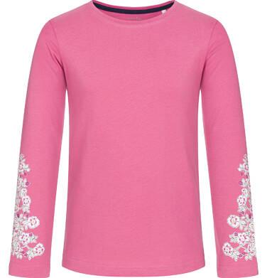 Endo - Bluzka z długim rękawem dla dziewczynki, różowa, 3-8 lat D92G012_1,1