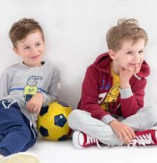Endo - Ciepła rozpinana bluza z kapturem dla chłopca 3-8 lat C72C009_1