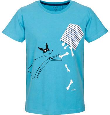 Endo - T-shirt z krótkim rękawem dla chłopca 9-13 lat C91G545_2