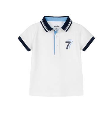 Koszulka polo dla dziecka 0-3 lata N91G098_1