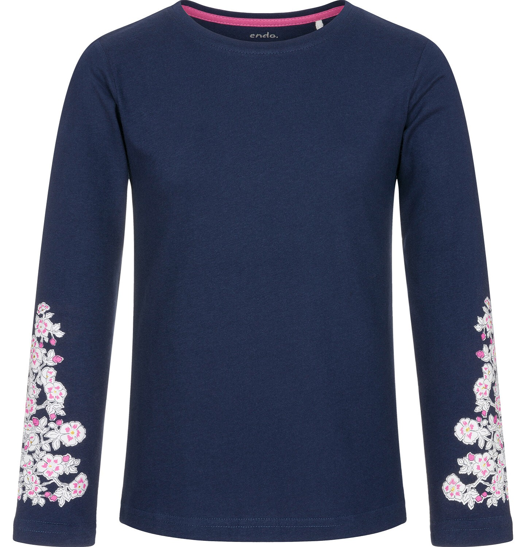 Endo - Bluzka z długim rękawem dla dziewczynki 3-8 lat D92G012_2