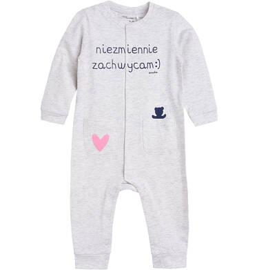 Endo - Pajac z kieszonkami dla dziecka 0-3 lata N81N031_1