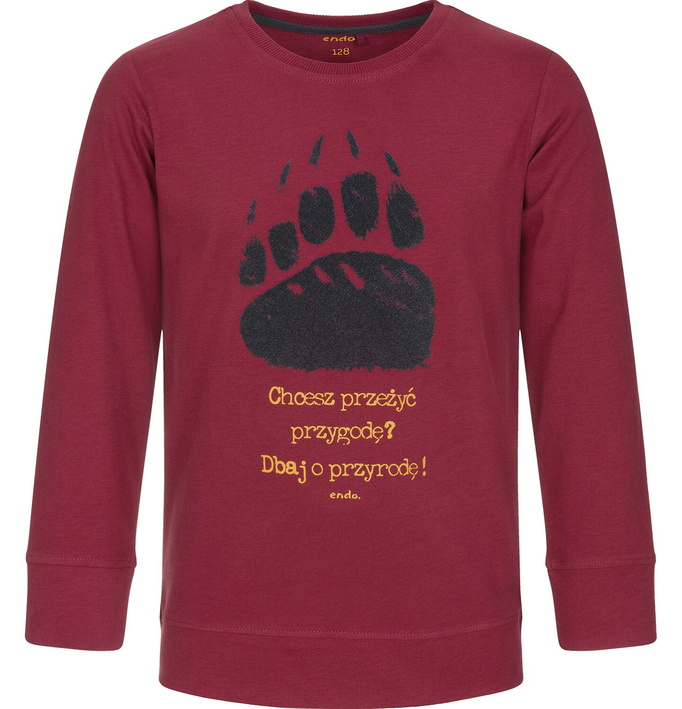 Endo - T-shirt z długim rękawem dla chłopca 3-8 lat C92G051_2