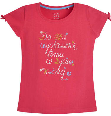 Endo - T-shirt dla dziewczynki 3-8 lat D81G047_1