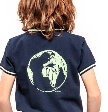 Endo - Koszulka polo z krótkim rękawem dla chłopca 3-8 lat C91G053_2