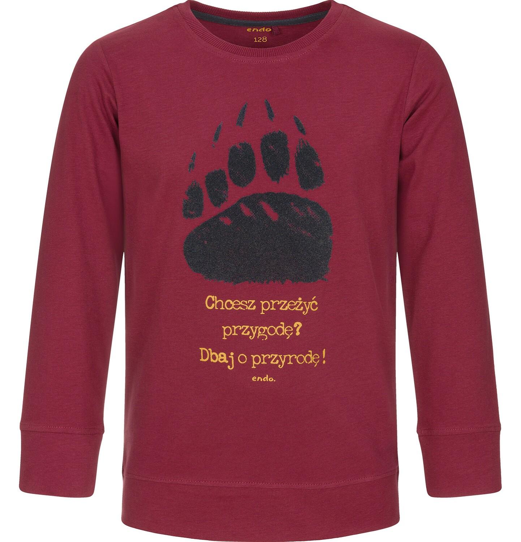 Endo - T-shirt z długim rękawem dla chłopca 9-13 lat C92G551_2