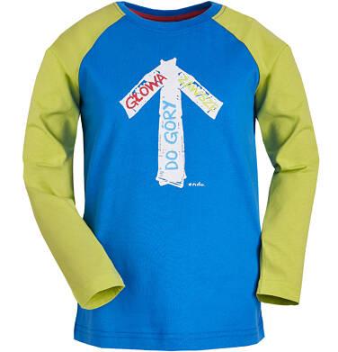 Endo - T-shirt z reglanowym rękawem dla chłopca 9-13 lat C81G558_1