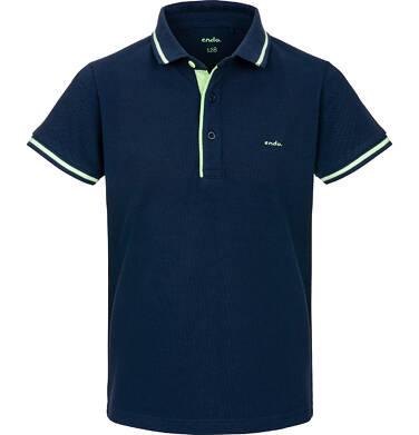 Endo - T-shirt polo z krótkim rękawem dla chłopca 9-13 lat C91G553_2
