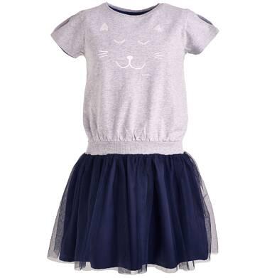 Endo - Sukienka z tiulowym dołem dla dziewczynki 9-13 lat D81H524_1