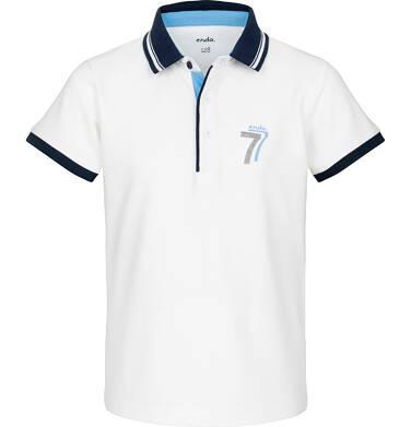 Endo - Koszulka polo z krótkim rękawem dla chłopca 3-8 lat C91G056_2